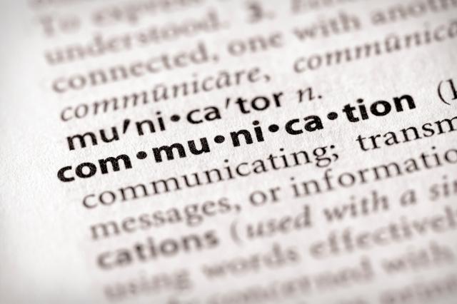 Dictionary Series - Marketing: communication
